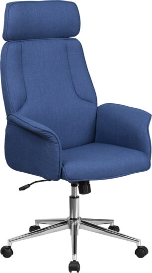 Office Chairs: Fabric and Vinyl