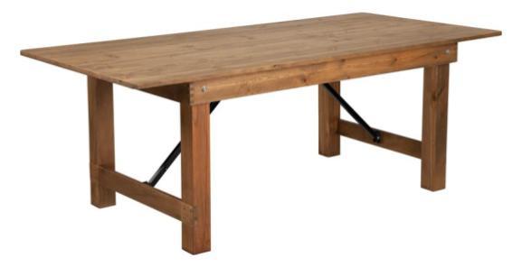 7_ x 40_ Farm Table