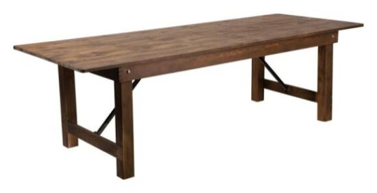 9_ x 40_ Farm Table