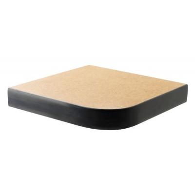 Laminate with Flat PVC Edge