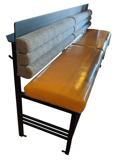Mercer Bench with Drink Rail