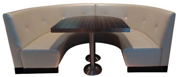 Moderna Horseshoe bench