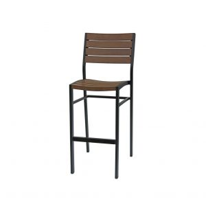 New-Mirage-Bar-Chair without Arm (brown)