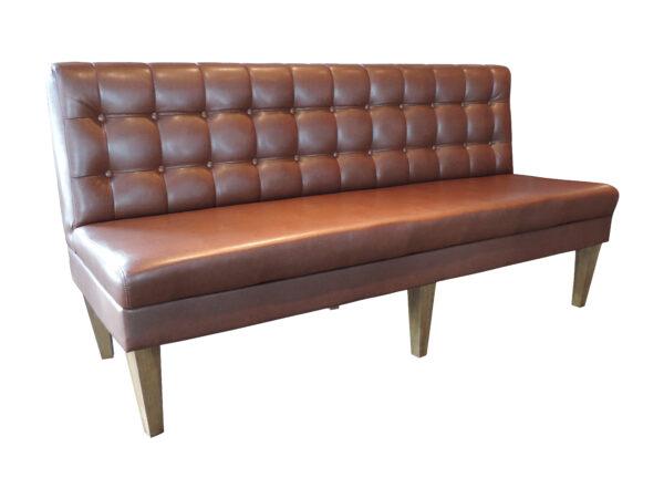 Parlour tufted sofa