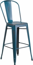 Rochelle Stool-distressed-available in many colours
