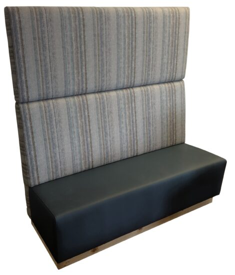 Timona bench with matching wall panel
